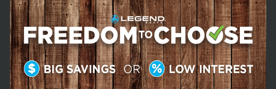 Legend Freedom to Choose Promo