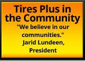 Tires Plus in the Community