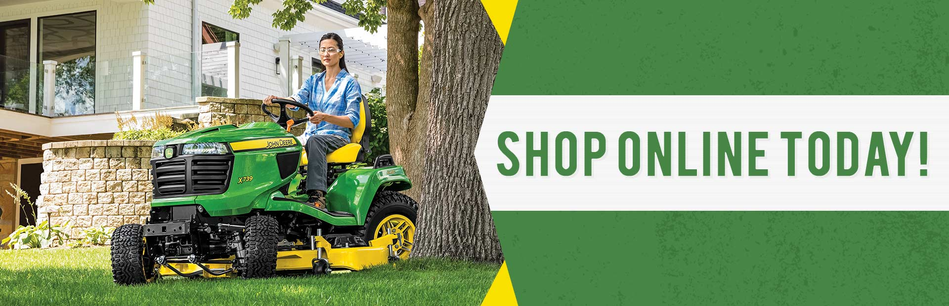 Shop On John Deere Today! Click here now!