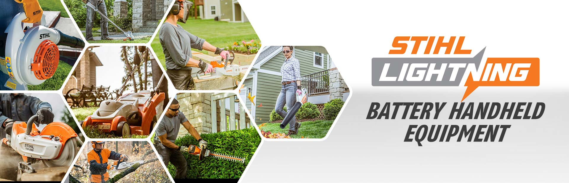 Chief Equipment offers STIHL lightening battery handheld equipment!