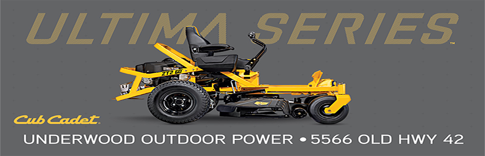 Cub Cadet Ultima Series. Underwood Outdoor Power 5566 Old Hwy 42