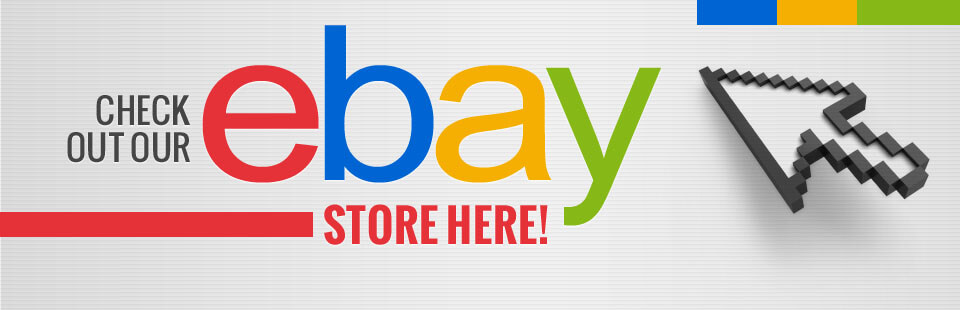 Click here to check out our eBay store!