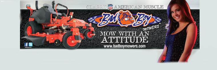 Classic American Muscle: Bad Boy Mowers! Available at Rodger's and Sons!