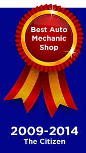 Best Auto Mechanic Shop. 2009-2014 The Citizen.