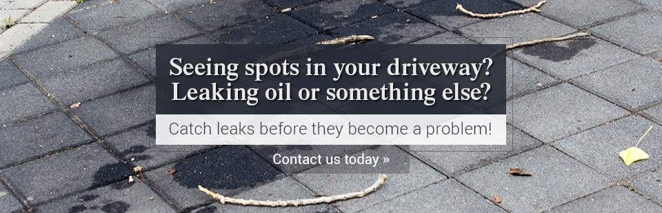 Catch leaks before they become a problem! Contact us today.
