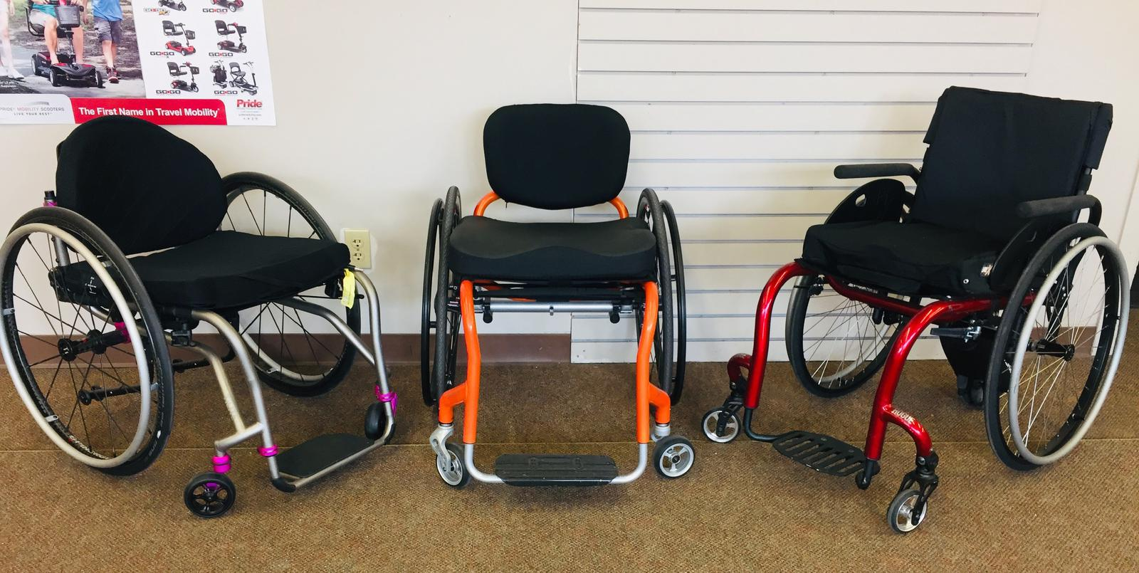 Custom Lightweight wheelchairs