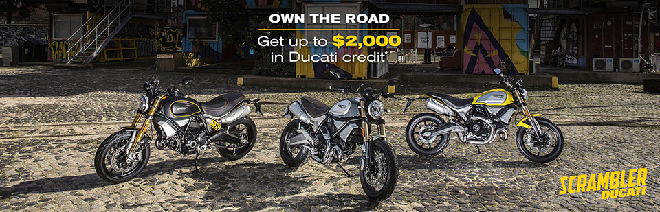 Ducati Scrambler Own The Road