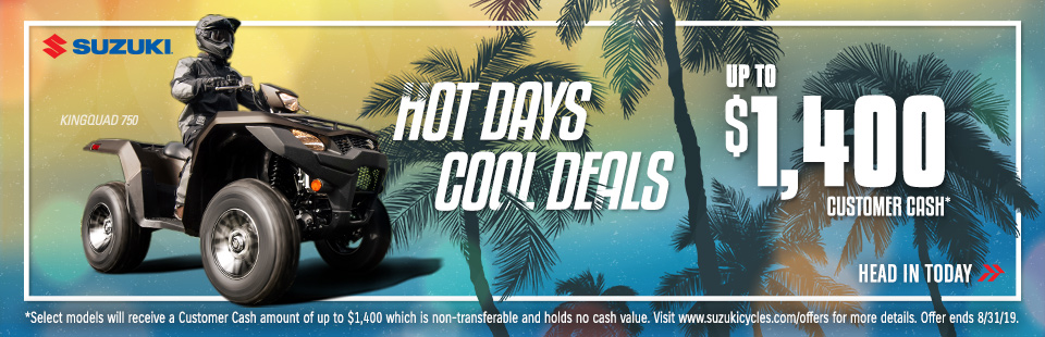 Hot Days, Cool Deals: Up to $1400 customer cash.