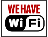We have WiFi!