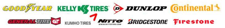 We proudly carry products from Goodyear, Kelly, Dunlop, Continental, General, Kumho, Nitto, Bridgestone, and Firestone.