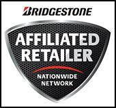 We are a Bridgestone affiliated retailer.