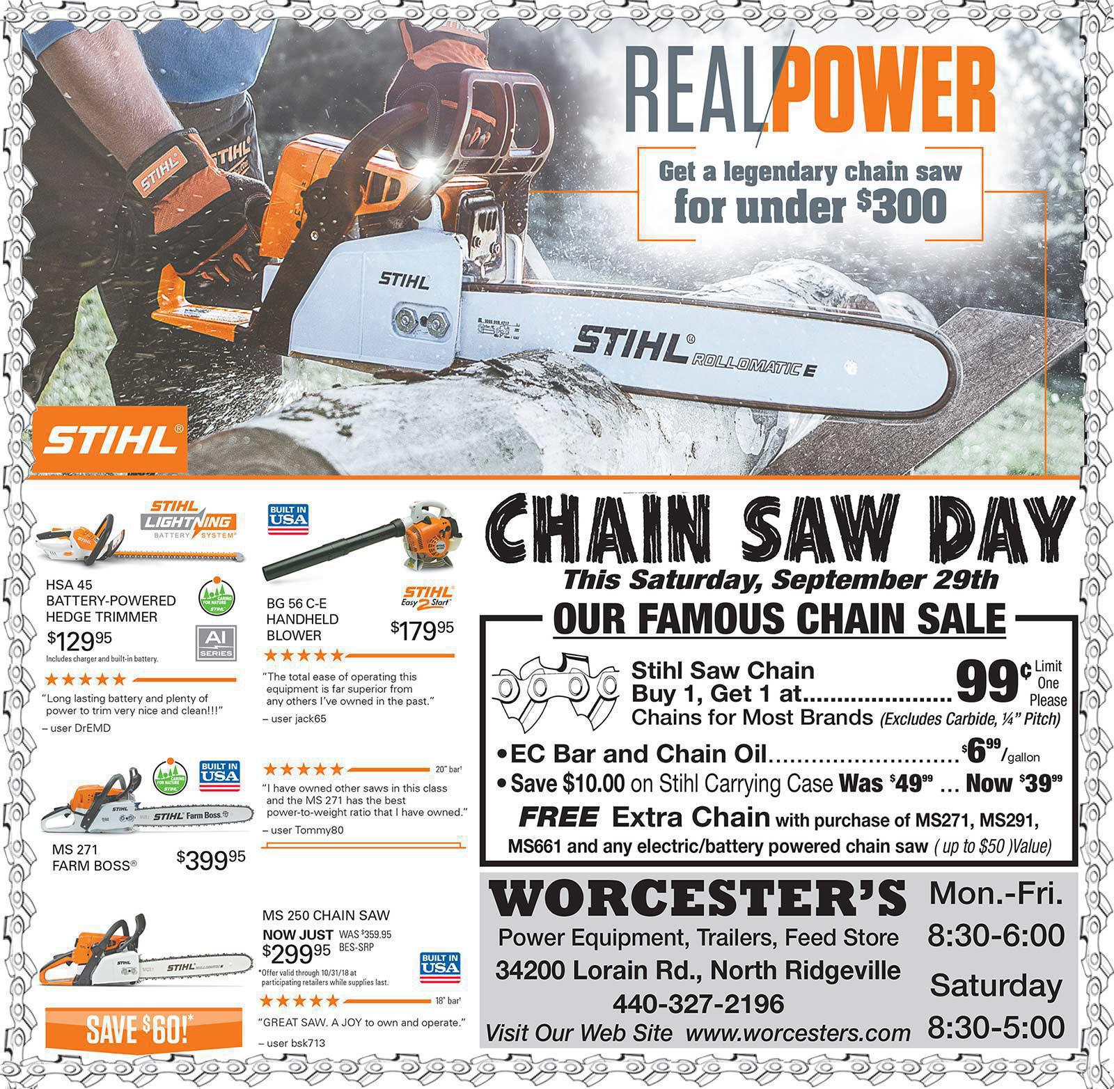 Chainsaw Day