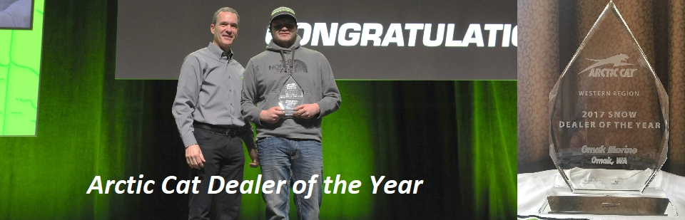 Arctic Cat Dealer of the Year
