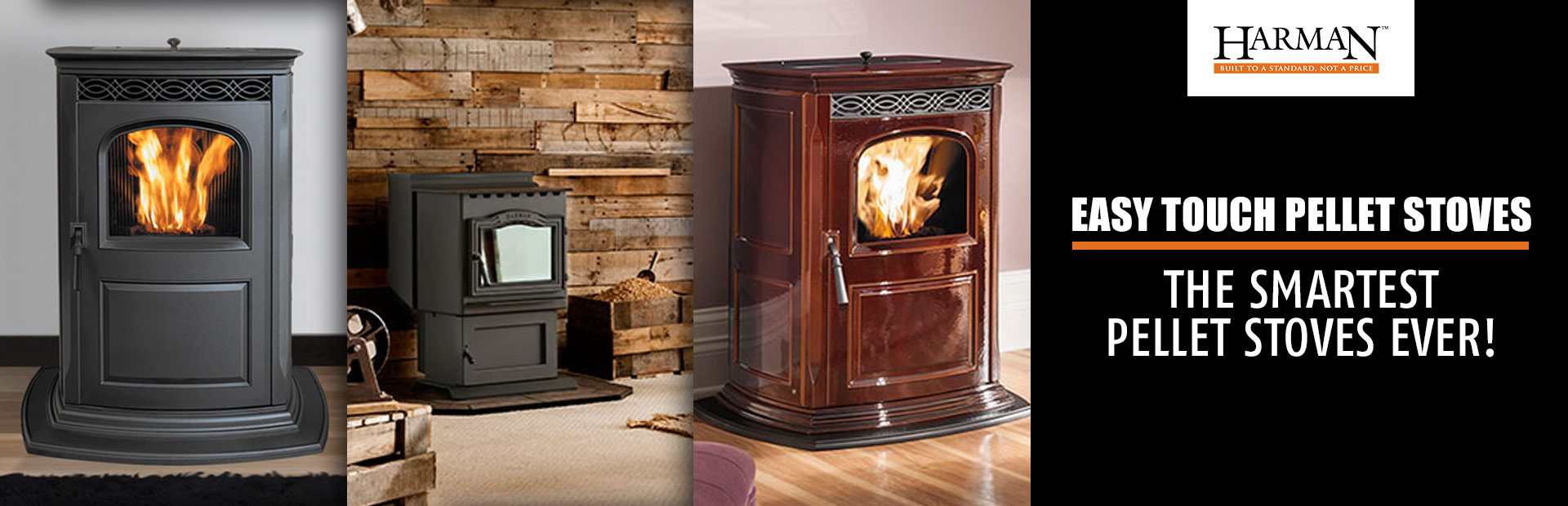 Harman EASY Touch Pellet Stoves: The Smartest Pellet Stoves Ever!