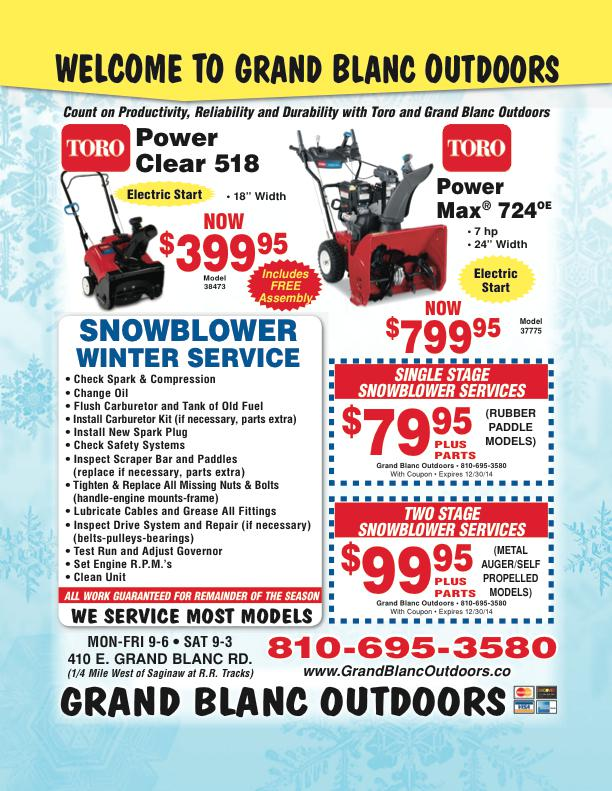 Services at Grand Blanc Outdoors