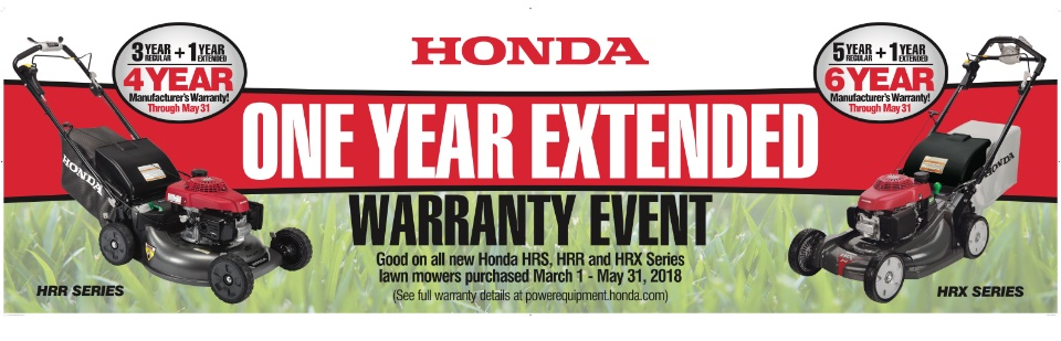 Honda Mower Extended Warranty