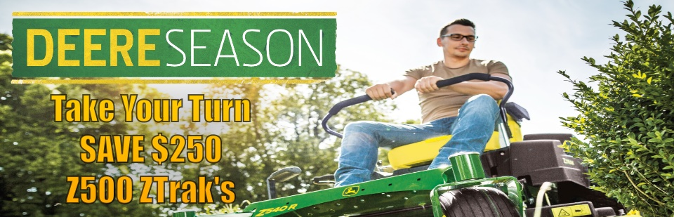 Deere Season Z500 Take Your Turn