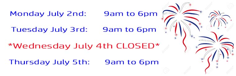 independence day hours 2018