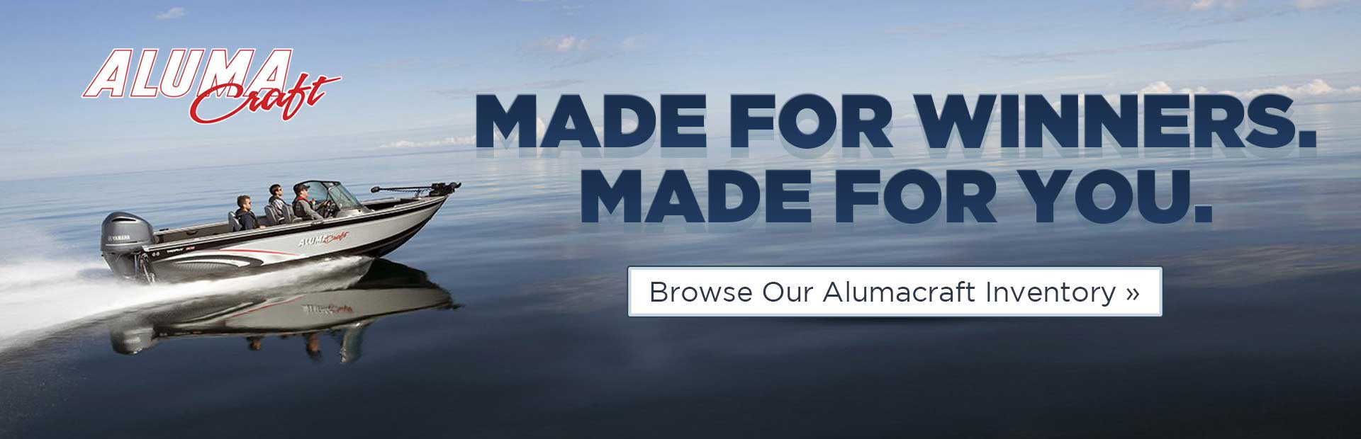 Browse our Alumacraft inventory.