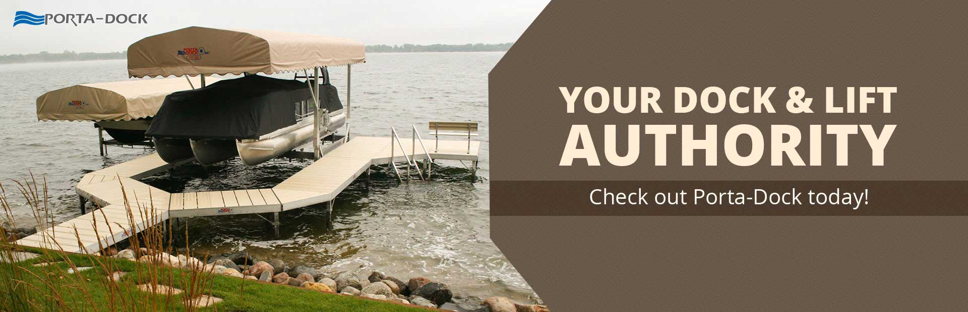 Grand Rapids Marine is your dock and lift authority! Check out Porta-Dock today!
