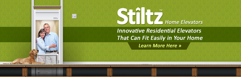Stiltz home elevators are an innovative residential elevators that can fit easily in your home. Click here to learn more.