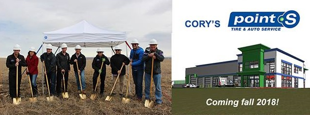 Cory's Point S new location in Rapid City - Coming Soon!
