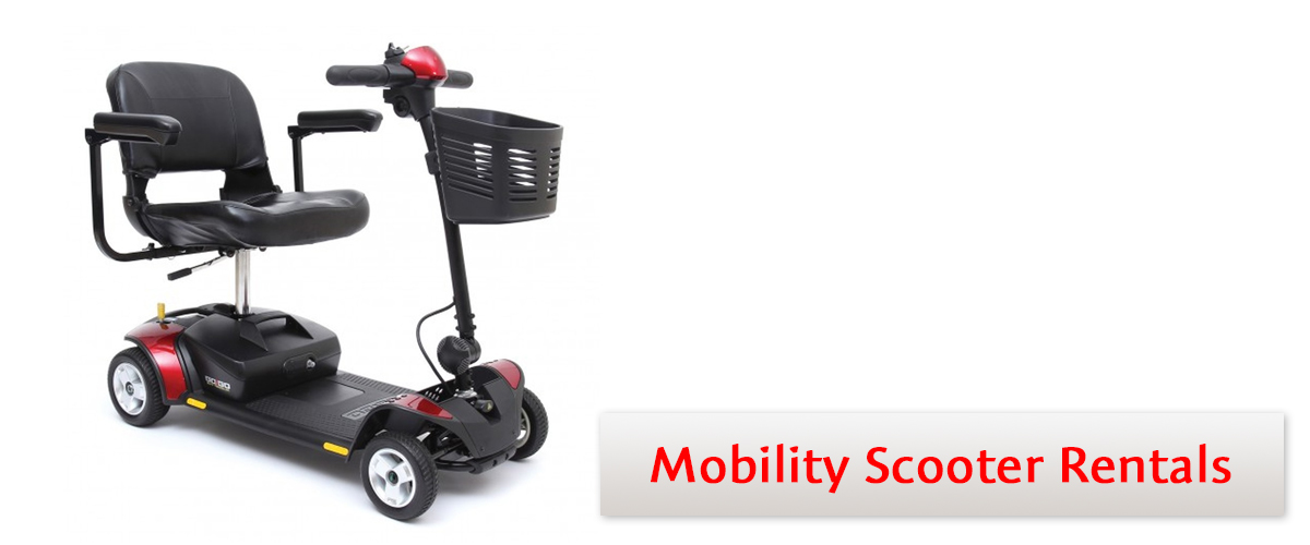 lowest price 73aff 476a5 Mobility Scooter Rental