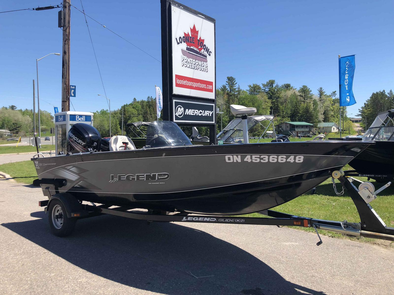 2014 Legend Xterminator 16 For Sale In Desbarats On Loonie Toons Pontoons Powersports Desbarats On 705 782 6826