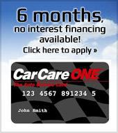 6 months, no interest financing available! Click here to apply