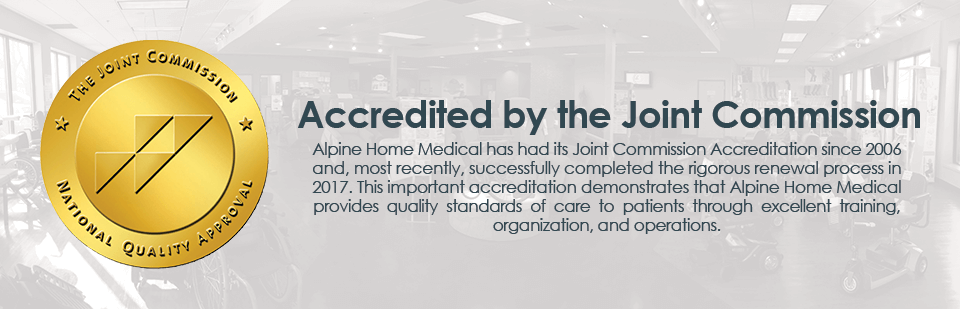 Accredited by the Joint Commission since 2006
