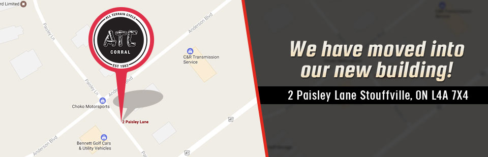 We have moved into our new building! Visit us at 2 Paisley Lane in Stouffville, ON today!
