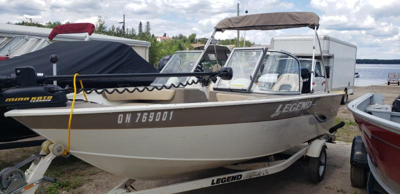 2008 Legend 16 Xcalibur Boat Motor Trailer Package For Sale In Red Lake On Red Lake Marine Products Ltd Red Lake On 807 727 2747