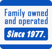 Family Owned and Opearated Since 1977