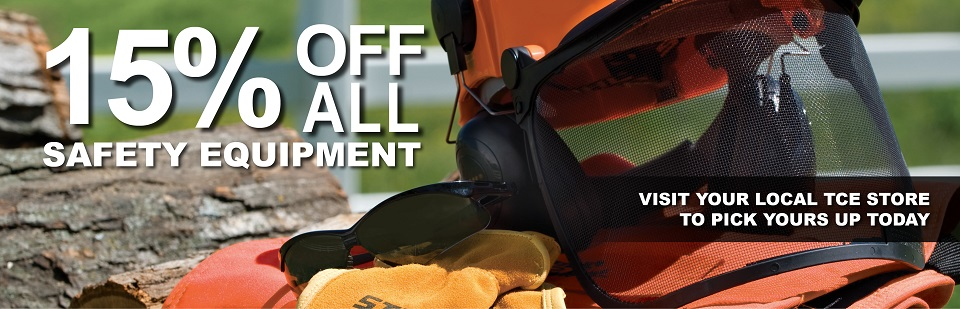 15% Off Safety Equipment