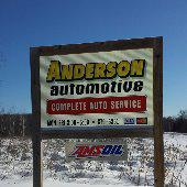 Anderson Automotive sign