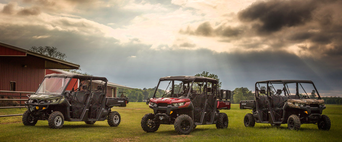 View All New Can-Am Side x Sides