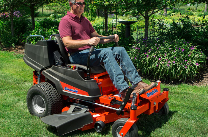 Courier Zero-Turn Mower