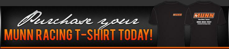 Purchase your Munn Racing T-shirt today!