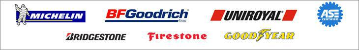 We carry Michelin, BFGoodrich, Uniroyal, Bridgestone, Firestone, and Goodyear.  We are ASE certified.