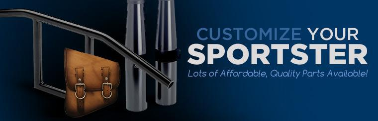 Customize your sportster. We have lots of affordable, quality parts available!