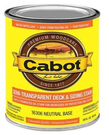 Cabot Semi-Transparent Deck & Siding Stain at Colonial Hardware, Inc. in Memphis, TN