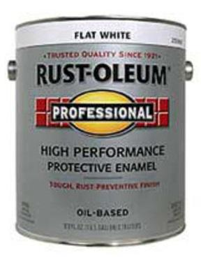 Rust-Oleum High Performace 7790 Flat White Paint at Colonial Hardware, Inc. in Memphis, TN