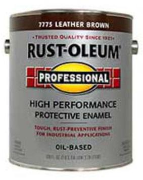 Rust-Oleum High Performance 7775 Leather Brown Paint at Colonial Hardware, Inc. in Memphis, TN