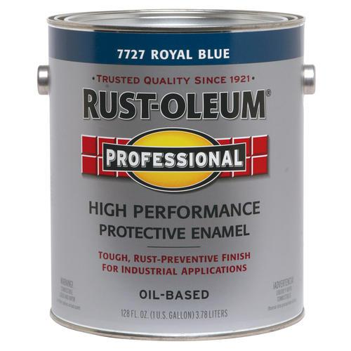 Rust-Oleum High Performance 7727 Royal Blue Paint at Colonial Hardware, Inc. in Memphis, TN
