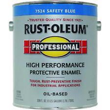 Rust-Oleum High Performance 7524 Safety Blue Paint at Colonial Hardware, Inc. in Memphis, TN