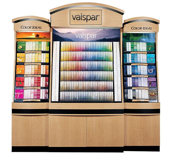 Valspar Color Rack