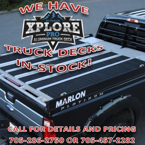 We have truck decks in stock!