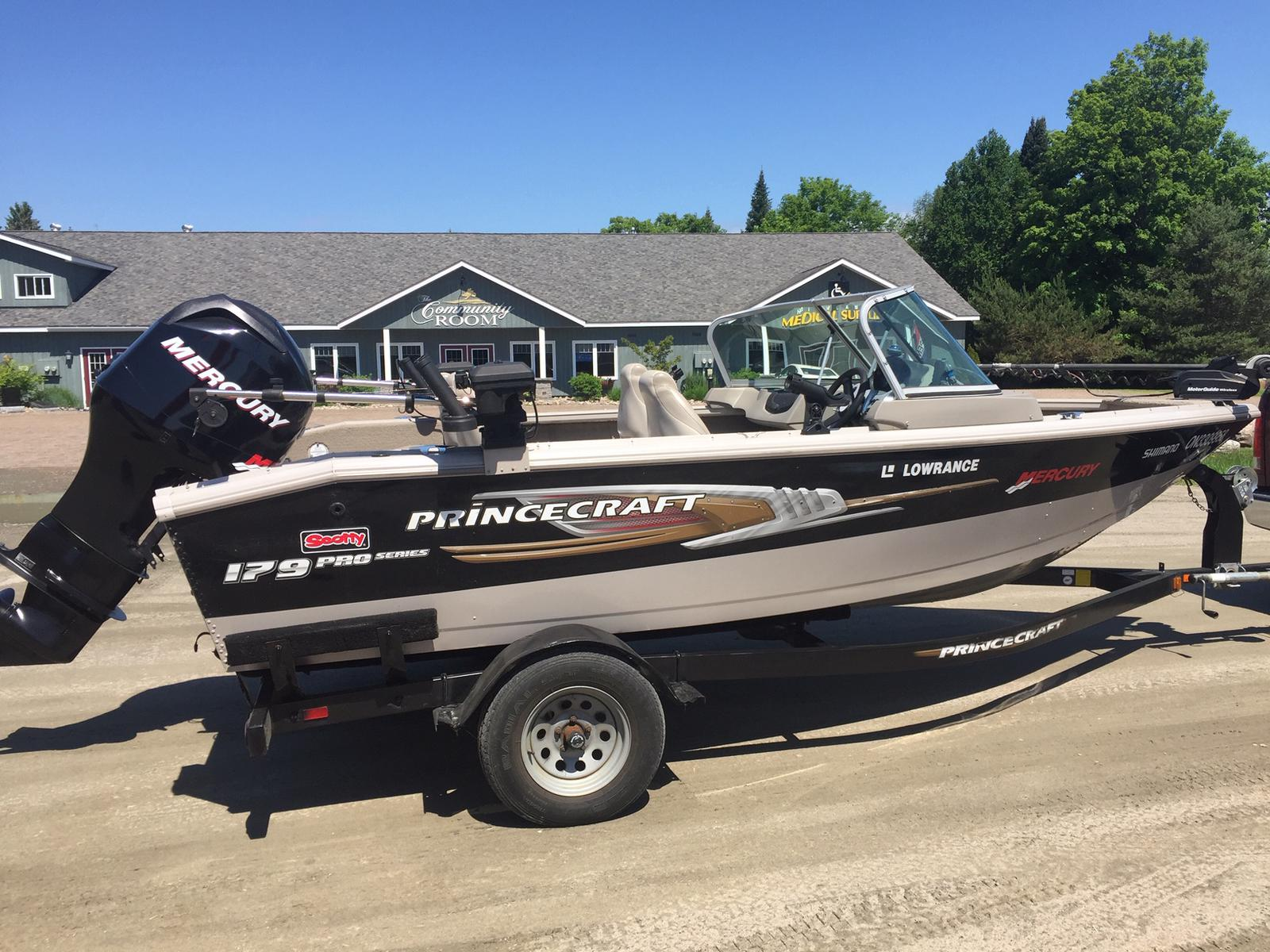 2011 PRINCECRAFT 179 PRO SERIES for sale