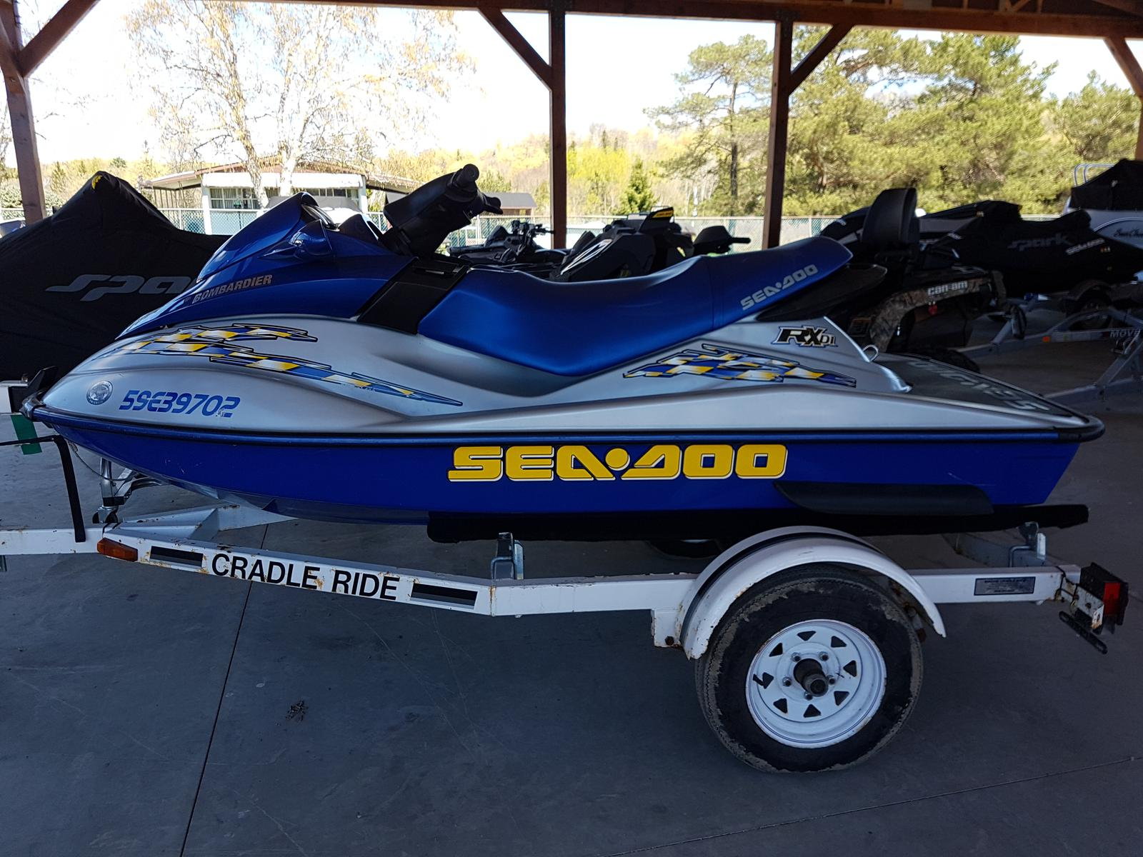 For Sale: 2002 Sea Doo Pwc Rx Di ft<br/>Harper Power Sports- Haliburton
