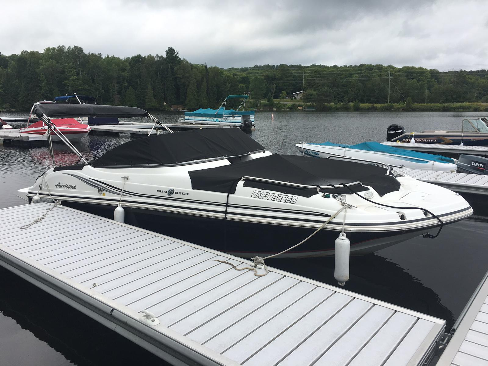 For Sale: 2012 Hurricane 217 Sun Deck 22ft<br/>Harper Power Sports- Haliburton